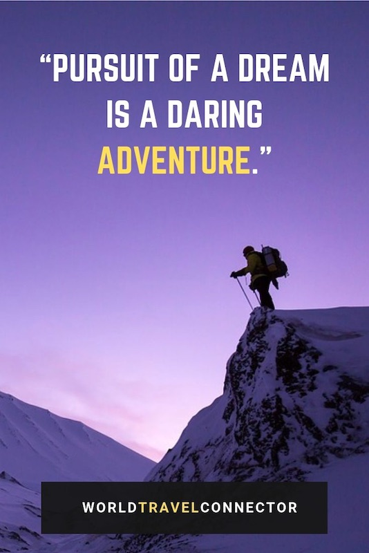 a collection of best adventure quotes