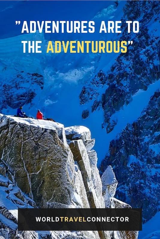 best adventure quotes Benjamin Disraeli