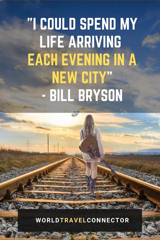 best adventure quotes Bill Bryson