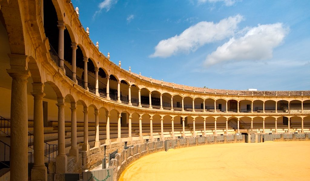 Bullring in Ronda should be on any Andalucia road trip itinerary