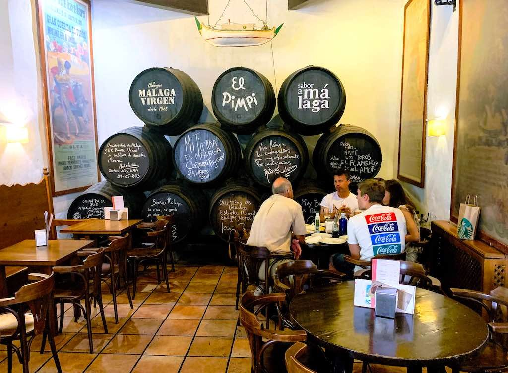 El Pimpi in Malaga should be on any southern Spain itinerary
