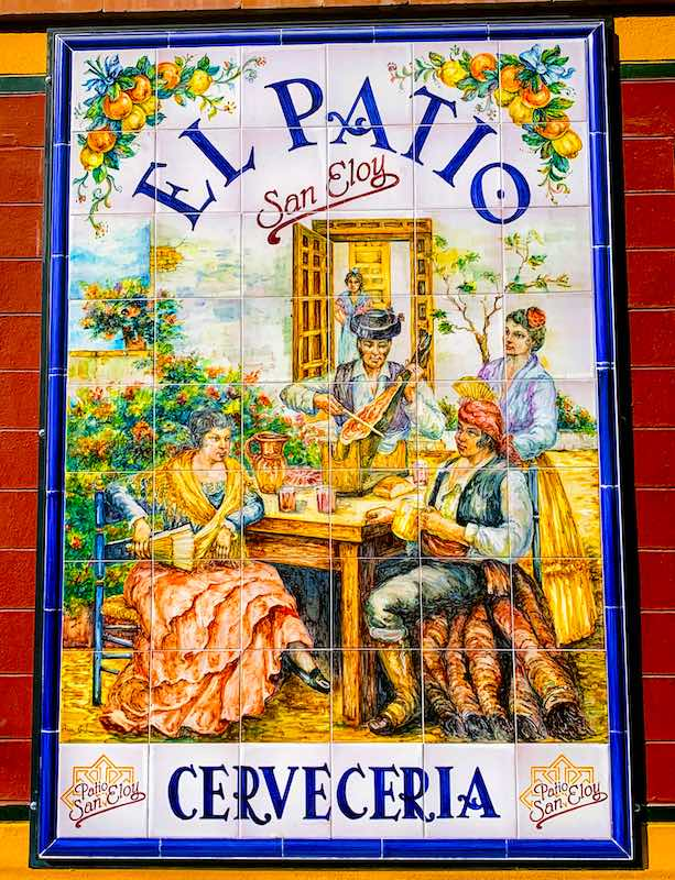 El patio restaurant in Seville