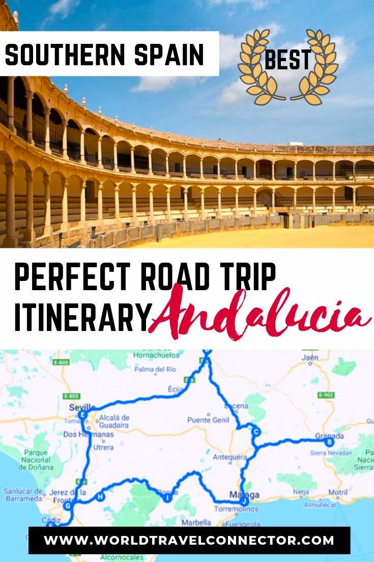Perfect Southern Spain Road Trip Itinerary