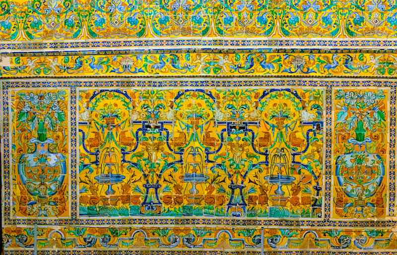Royal Alcazar in Seville a must on Andalucia road trip itinerary