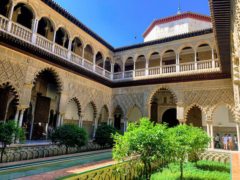Royal Alcázar of Seville is one of the best places to visit in Southern Spain I Spain Travel Guide by World Travel Connector