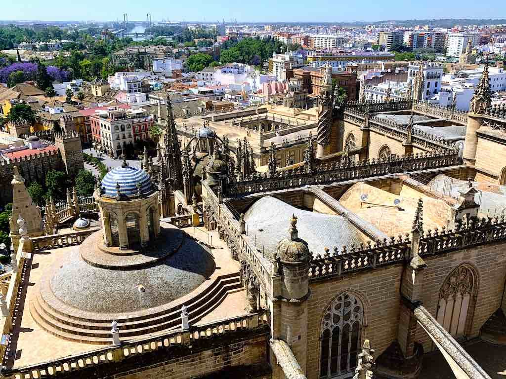 Seville Cathedral from the Giralda Tower