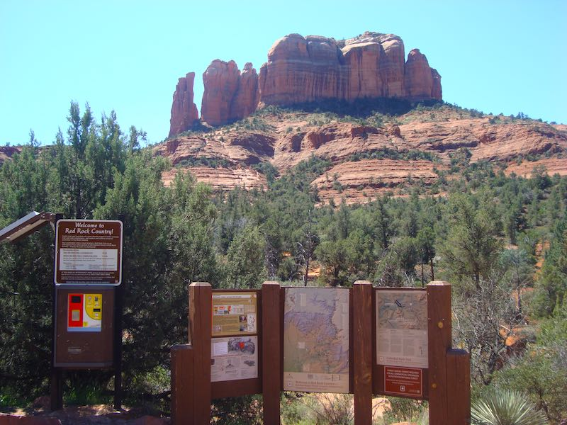 Sedona in Arizona on USA southwest road trip itinerary