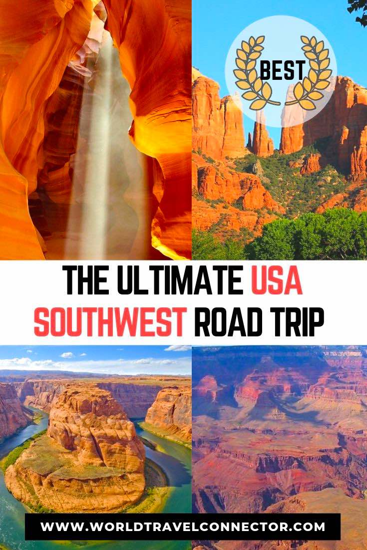 The Ultimate USA Southwest Road Trip Itinerary