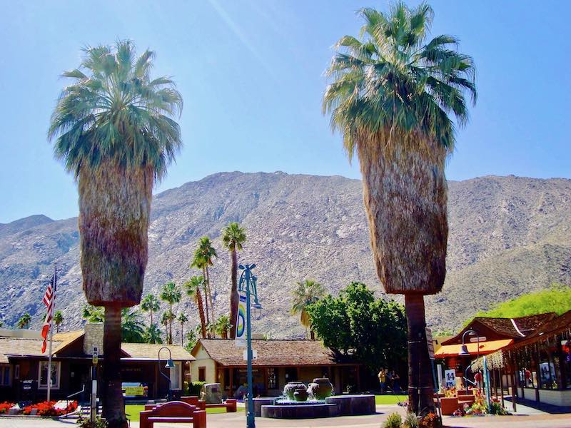Palm Springs as a part of USA southwest road trip