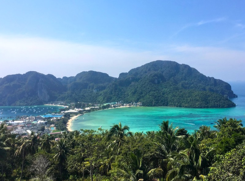 Koh Phi Phi islands should be on any 10 day Thailand itinerary