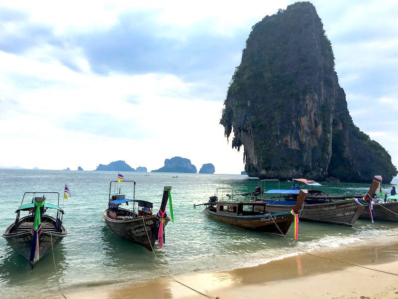 Phra Nang Beach  I 10 Days Thailand Itinerary I Thailand Itinerary 10 Days I Best Things to do in Thailand in 10 days I Best Things to See in Thailand in 10 days I
