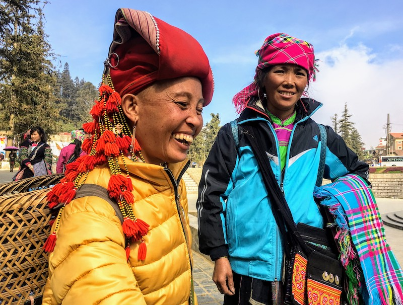 Visiting Vietnam hill tribes in Sapa should be on any 10 day Vietnam itinerary