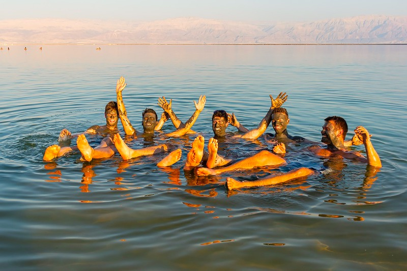 Best day trips from Tel Aviv Floating in the Dead Sea