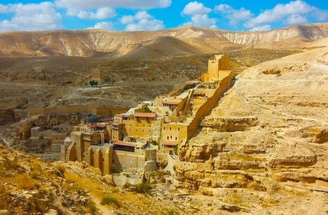 Day trip to Mar Saba monastery is one of the best day trips from Tel Aviv