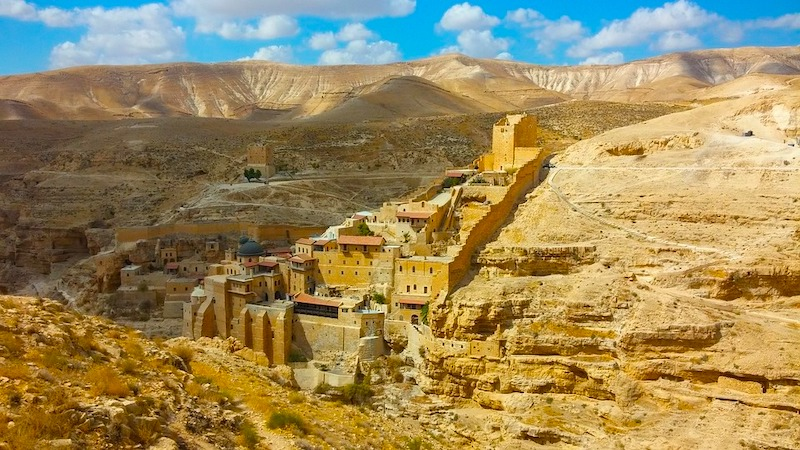 Best day trips from Tel Aviv Mar Sab Monastery