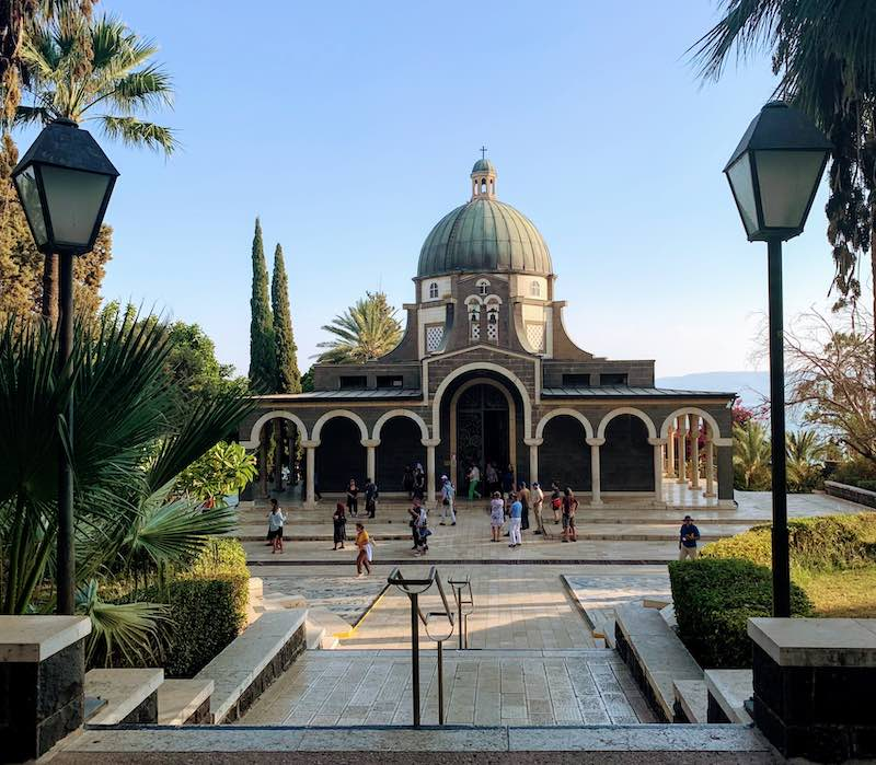 Best day trips from Tel Aviv Mount of Beatitudes church