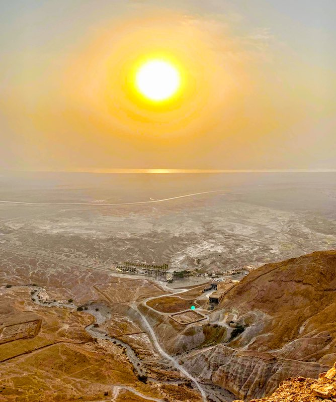 Trip to Masada is one of the best day trips from TelAviv