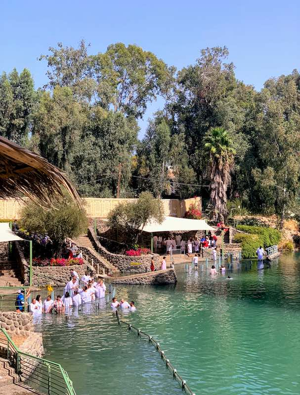 Best day trips from Tel Aviv Yardenit Baptism Site