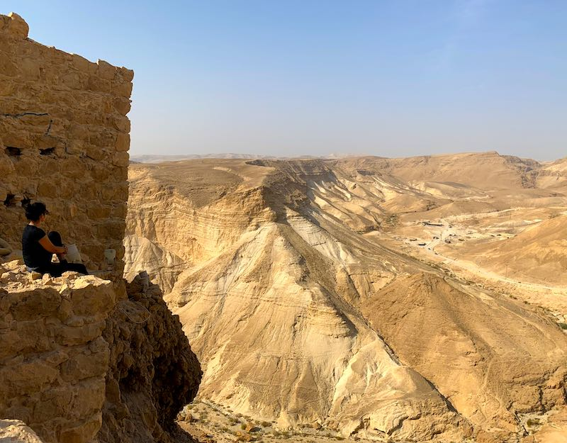 Trip to Masada is one of the best day trips from Tel Aviv