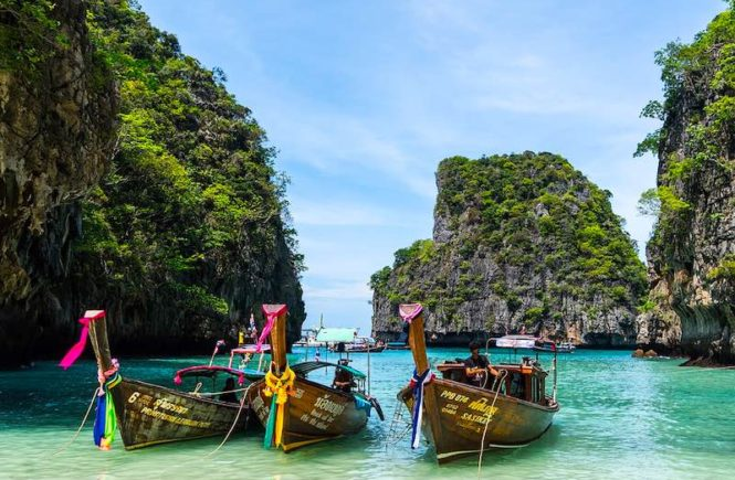 Koh Phi Phi islands should be on any Thailand itinerary 10 days I Travel Itineraries by World Travel Connector