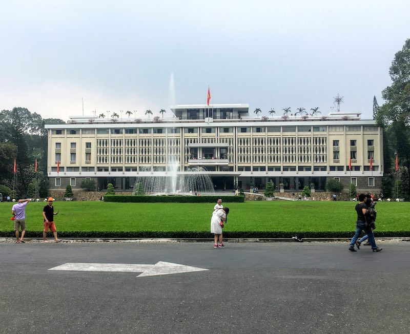 Independence Palace in Ho Chi Minh City should be on any 10 day Vietnam itinerary