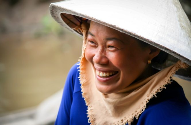 vietnam Itinerary smiling woman