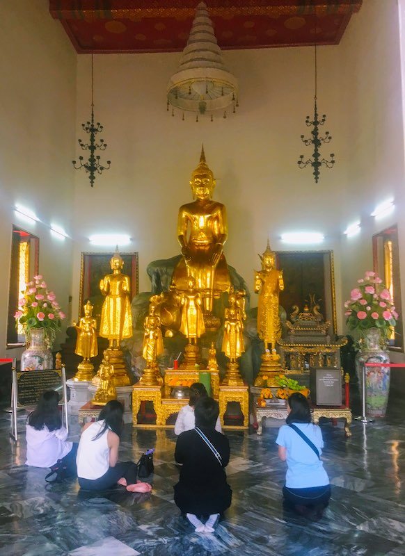 Visiting Wat Pho complex is one of the top things to do in Bangkok