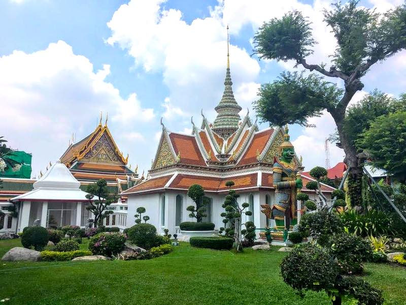 Visiting Wat Arun is one of the best things to do in Bangkok