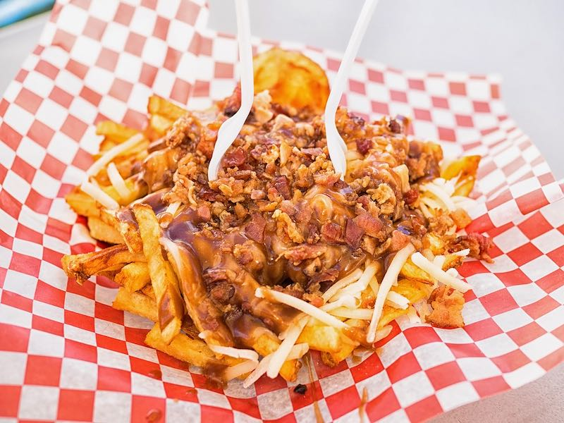 Canadian poutine is a world famous dish