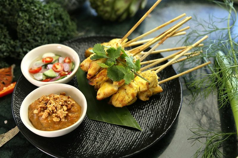 Satay is one of the most famous foods around the world