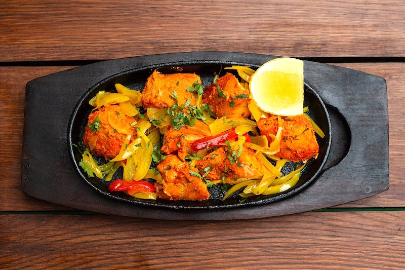 Indian chicken tandoori is one of the most famous foods in the world