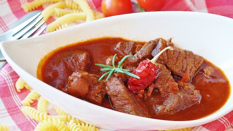 Hungarian goulash is one of the most famous foods around the world