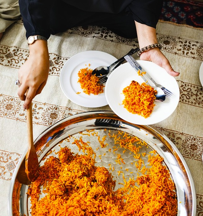 Indian biryani rice id one of the most famous foods around the world
