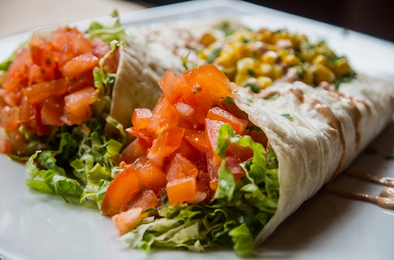 Mexican burrito is one of the most famous foods around the world