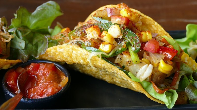 Mexican tacos are one of the most famous foods around the world