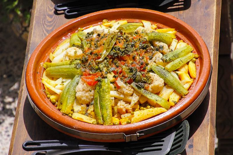 Moroccan tajine is one of the most famous foods around the world