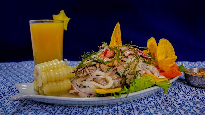 Peruano ceviche is one of the most famous foods around the world