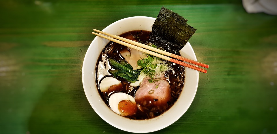 Japanese ramen soup is  one of the most famous foods around the world