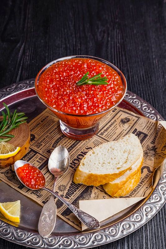Russian caviar is one of the most famous foods around the world