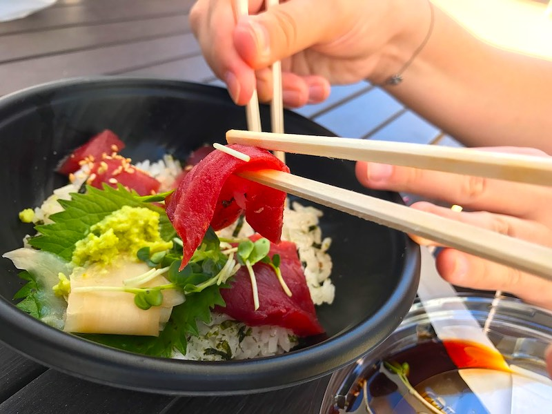 Japanese sashimi is one of the most famous foods around the world