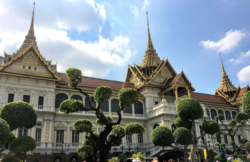 Visiting the Grand Palace complex is one of the top things to do in Bangkok