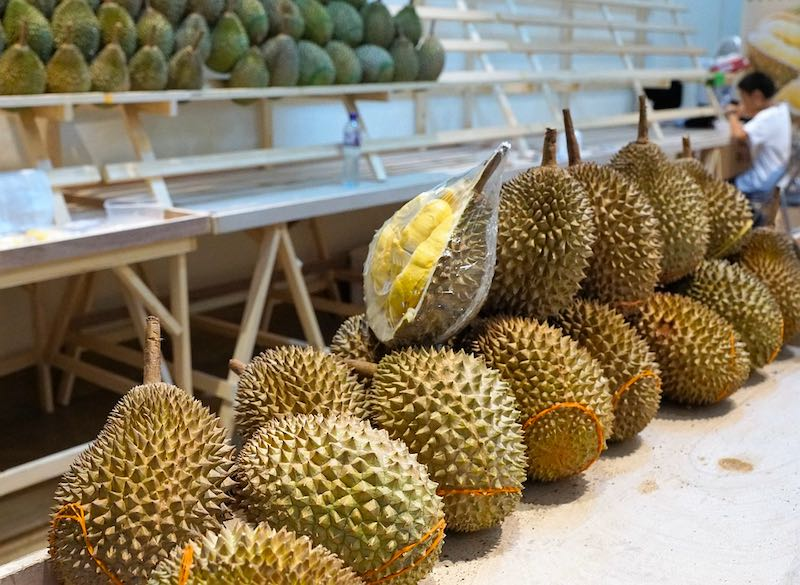 Tasting Durian fruit is one of the top things to do in Bangkok