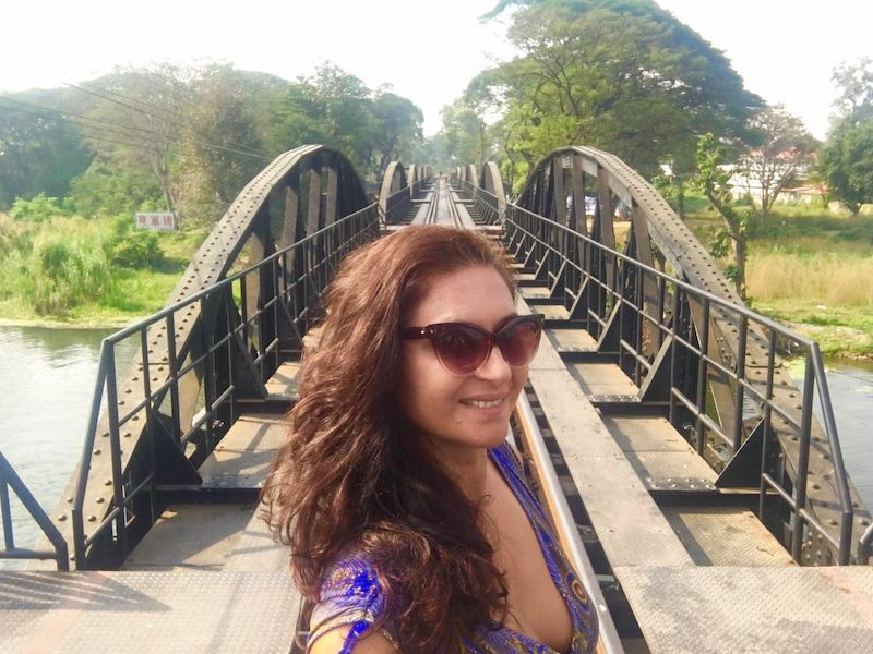 A day trip to Kanchanaburi and visiting the Bridge on the river Kwai is one of the best things to do in Bangkok