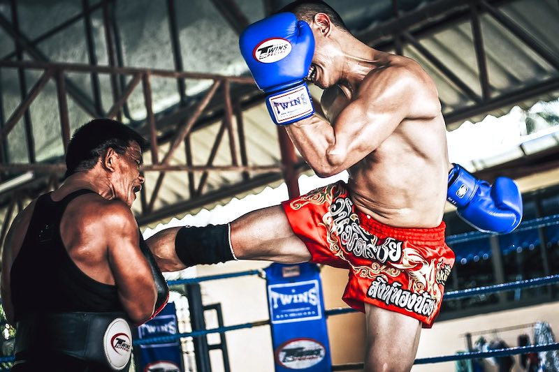 Watching Muay Thai match is one of the best things to do in Bangkok