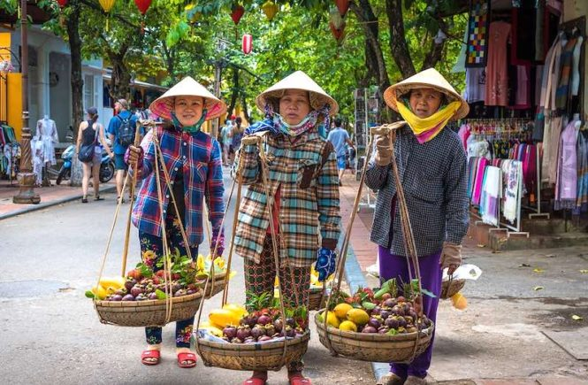 Street vendors in Vietnam are selling some of the best Vietnamese food in Vietnam