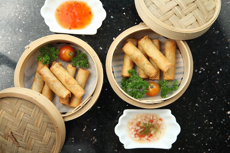 Cha gio fried rolls are some of the best Vietnamese food in Vietnam I Food in Vietnam I Traditional Vietnamese Food I Famous Vietnamese Food I Most Popular Food in Vietnam I National Food of Vietnam I Popular Vietnamese Dishes I Food at Vietnam I Vietnam Foods I Vietnam Food I Vietnamese Cuisine