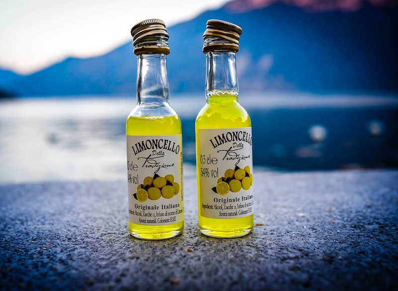 Limoncello is a popular Italian drink