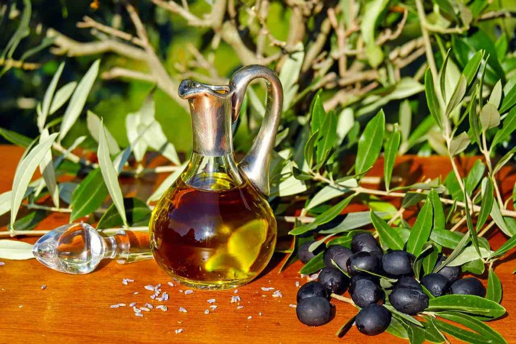 Olive oil is one of the most common traditional foods in Italy