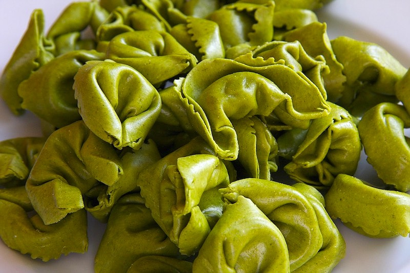 Tortellini are famous foods in Italy