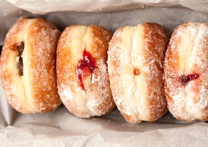 sufganiyah donuts are popular food in Israel   I Most Popular Food in Israel I Famous Israeli Food I Best Israeli Dishes  I Food from Israel I Top Israeli Foods I Israeli cuisine #Israel #Food #Dishes #Traditional #MiddleEastern #Cuisine #best #Foods